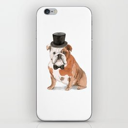 British Bulldog iPhone Skin