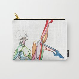 The Single Star, female dancer anatomy, NYC artist Carry-All Pouch