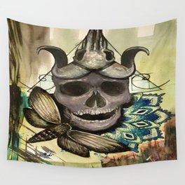 Skull-Dala Wall Tapestry
