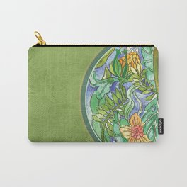 Pira Floral Carry-All Pouch