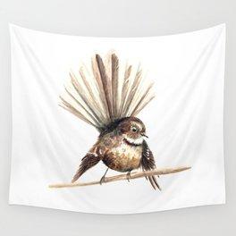 Piwakawaka / Fantail - a native New Zealand bird 2011 Wall Tapestry