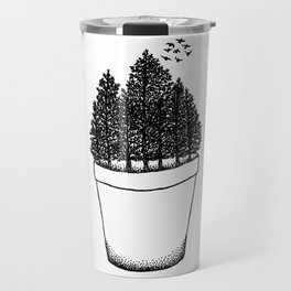 Potted Forest Travel Mug