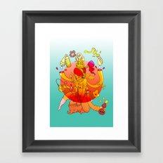 Naga Boo Framed Art Print