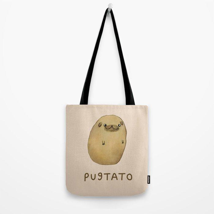 Pugtato Tote Bag