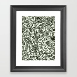 Garden of Relief and Affliction Framed Art Print