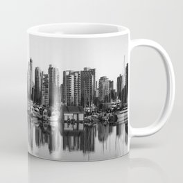 Black and White City Coffee Mug
