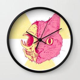 SCHRODINGERS CAT Wall Clock