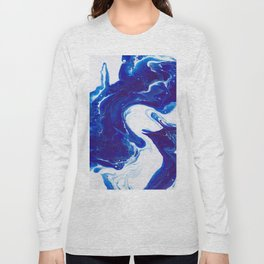 Blue (2 of 3) Long Sleeve T-shirt