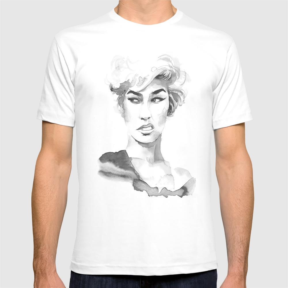 Attitude T-shirt by Claudiahamelin TSR8790345