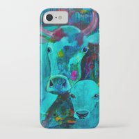 cows iPhone & iPod Cases featuring Cows by Silke Powers