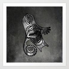 Whirlpool Hand Art Print
