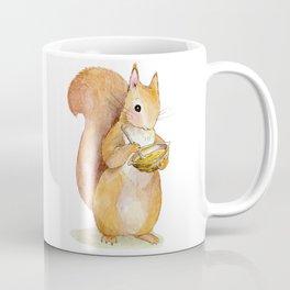 Hazelnut Squirrely Coffee Mug