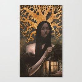 Widow's Tale Canvas Print