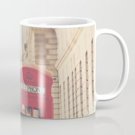 on a city street ...  Coffee Mug
