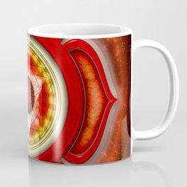 "Muladhara Chakra - Root Chakra - Series ""Open Chakra"" Coffee Mug"