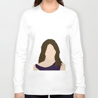 himym Long Sleeve T-shirts featuring Robin Scherbatsky HIMYM by Rosaura Grant