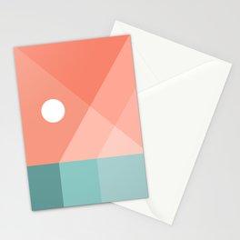 Geometric Landsape 12 Stationery Cards