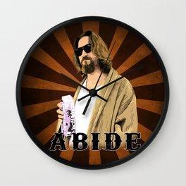 Abide. Wall Clock