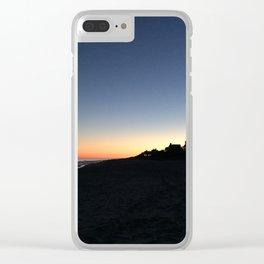 Sunset at Main Beach Clear iPhone Case