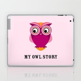 My owl story Laptop & iPad Skin