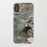 allyson johnson iPhone & iPod Cases featuring Johnson Canyon rocks by RMK Creative
