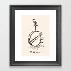 The Little Inventor Framed Art Print