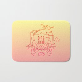 Dog Club Bath Mat
