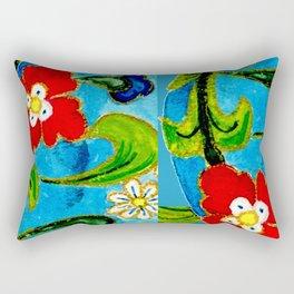 Genie Enamel II Rectangular Pillow