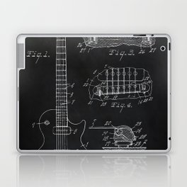 Gibson Guitar Patent Les Paul Vintage Guitar Diagram Laptop & iPad Skin