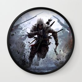 assassins Wall Clock