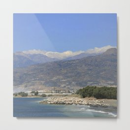 Crete, Greece 8 Metal Print