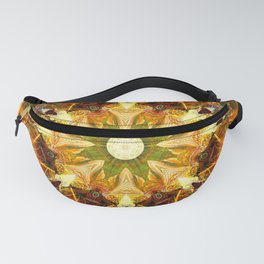 Mandalas from the Depth of Love 27 Fanny Pack