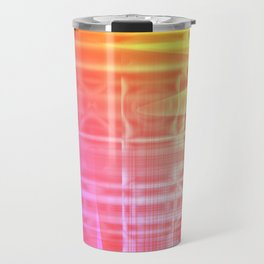 Colorful Abstract Travel Mug