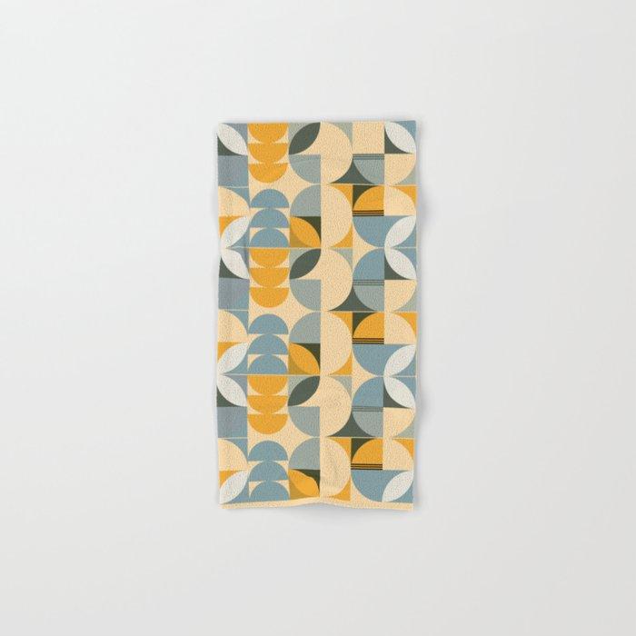 Soft Summer - Geometric Pattern Hand & Bath Towel