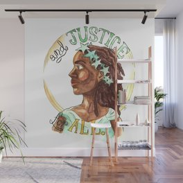 Liberty and Justice For All Wall Mural