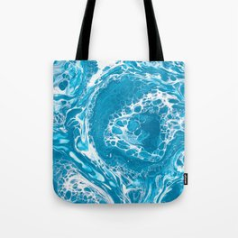 Frozen Currents Tote Bag
