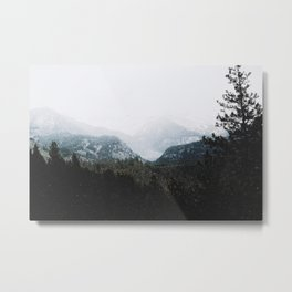 Winter in the Valley Metal Print