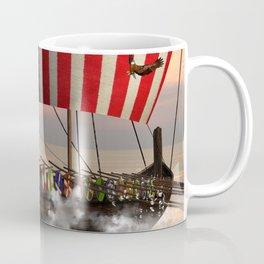 The  viking longship Coffee Mug