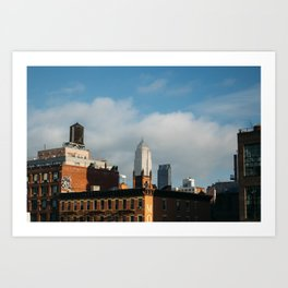 The Empire State Building from the Highline Art Print