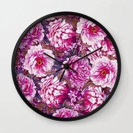 Romantic Garden VII Wall Clock