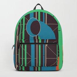 Pompidou - Famous Buildings Backpack
