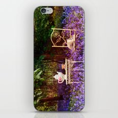 Afternoon Tea in the Bluebells. iPhone & iPod Skin
