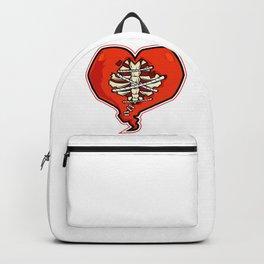 Stitched Broken Heart Backpack