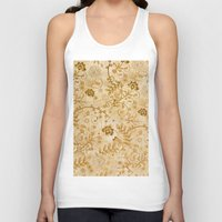 floral pattern Tank Tops featuring Floral pattern by nicky2342