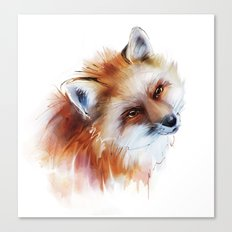 fox in love Canvas Print