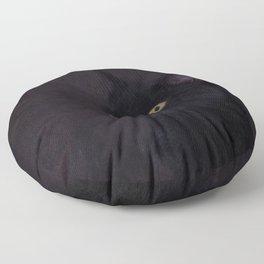 Black Cat - Prince Of Darkness Floor Pillow