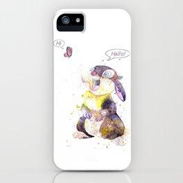 Hi - Hallo iPhone Case