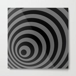 Eccentric Circles Metal Print