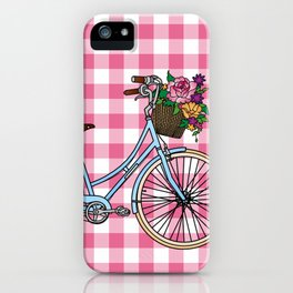 Her Bicycle iPhone Case