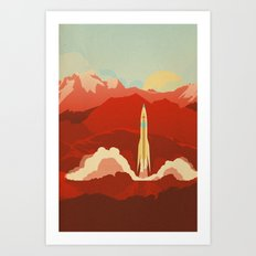 The Uncharted Art Print